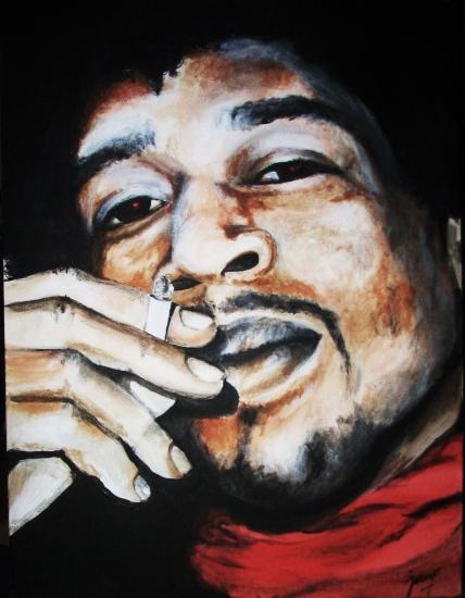 Jimi Hendrix by G